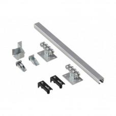 Система роликов и направляющих для балки DoorHan 71Х60Х3,5 L=6000