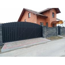 Откатные ворота ОВ3